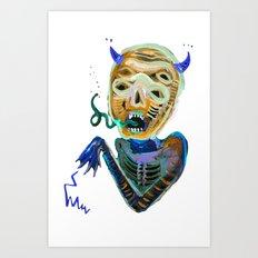 demoniooOOoOOoOooo #2 Art Print