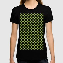 Kiwi Fruit Pattern Green T-shirt