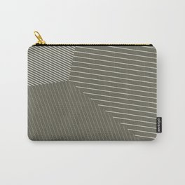 Business as Usual - Voronoi Stripes Carry-All Pouch