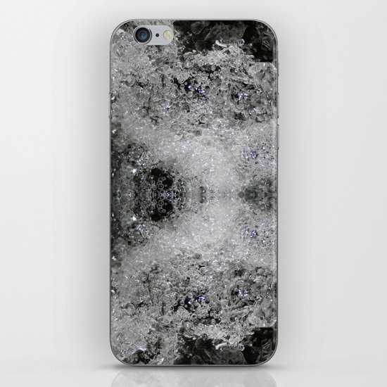Foam Butterfly iPhone Skin