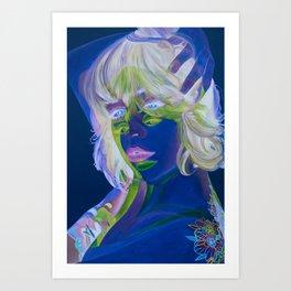 Cross Processed Art Print