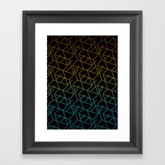 Cube Me Framed Art Print
