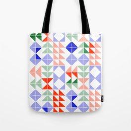 Color Triangles Tote Bag