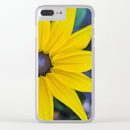 Single rudbeckia beauty Clear iPhone Case