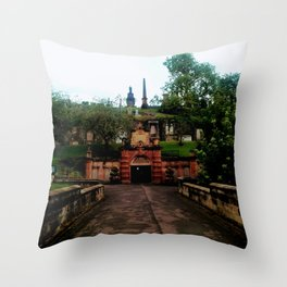 Cathedral in Scotland Throw Pillow