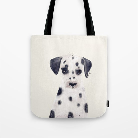 little dalmatian Tote Bag