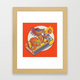 Matchbox Dragon Framed Art Print