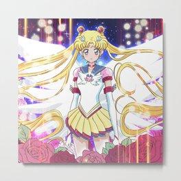 Eternal Sailor Moon Crystal Metal Print