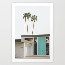 Mid Century Modern Architecture Photography - Palm Springs Art Print