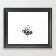 Wild Iris Framed Art Print