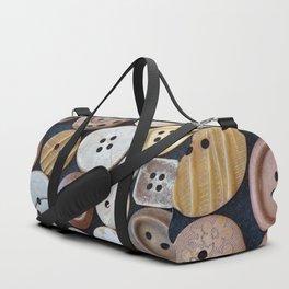 Wooden Buttons Duffle Bag