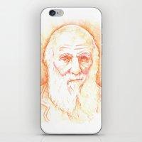 darwin iPhone & iPod Skins featuring CHARLES DARWIN by willeyworks