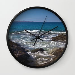 by the sea Wall Clock