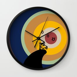 From very small beginning - Rainbow Wall Clock