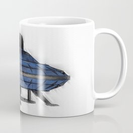 Retro UFO Coffee Mug