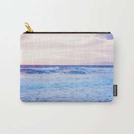 Purple Sunset over Hermosa Beach, Los Angeles  Carry-All Pouch