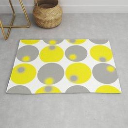 Gray & Yellow - 2 Rug