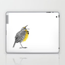 Eastern meadowlark Laptop & iPad Skin