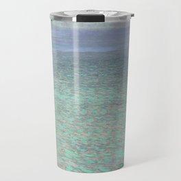 Klimt at Attersee Travel Mug