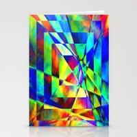 illusion Stationery Cards featuring Illusion. by Assiyam