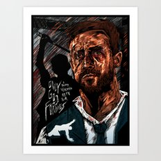 Only God Forgives Art Print