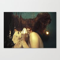 kozyndan Canvas Prints featuring Passing Through To the Other Side by kozyndan