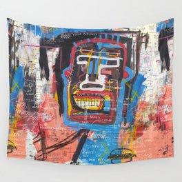 Ninja Face Wall Tapestry
