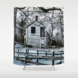 Old Smokehouse Shower Curtain