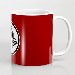 Northwest Pacific coast Haida art Salmon Coffee Mug