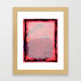 Waxahachie Moon Framed Art Print