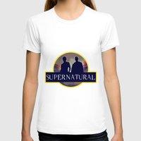 supernatural T-shirts featuring Supernatural  by amirshazrin
