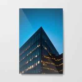 Silicon dock 2 Metal Print
