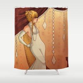 Elegant Diamonds Shower Curtain