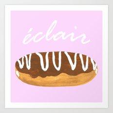 Eclair Art Print