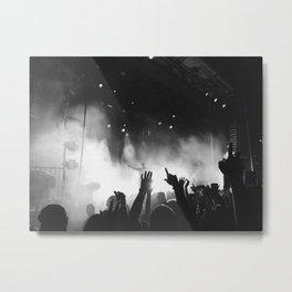 Concert Vibes Metal Print
