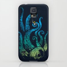 Undersea attack (neon ver.) Galaxy S5 Slim Case