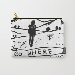 Go Where No Politicians Are Carry-All Pouch