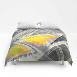 ∆Yellow Comforters