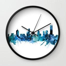 Melbourne Australia Skyline Wall Clock