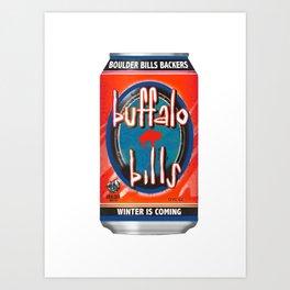 bills Art Print