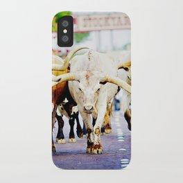 Texas Stockyards iPhone Case