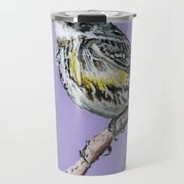 Yellow-Rumped Warbler Travel Mug