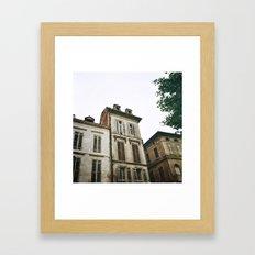 Bergerac Framed Art Print