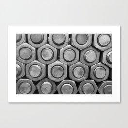 STUDS (b&w) Canvas Print