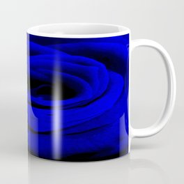 Expansion Blue rose flower Coffee Mug