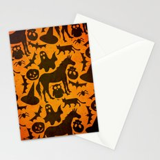 Halloween Spook Unicorn Stationery Cards