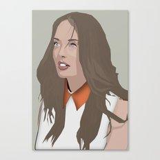 Laura Haddock Canvas Print