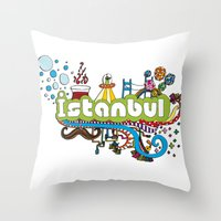 Hilarioustanbul (: Throw Pillow