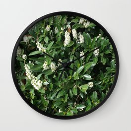 green/white Wall Clock