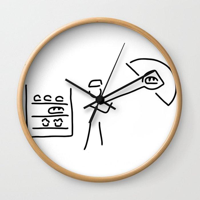 baker's craft Wall Clock